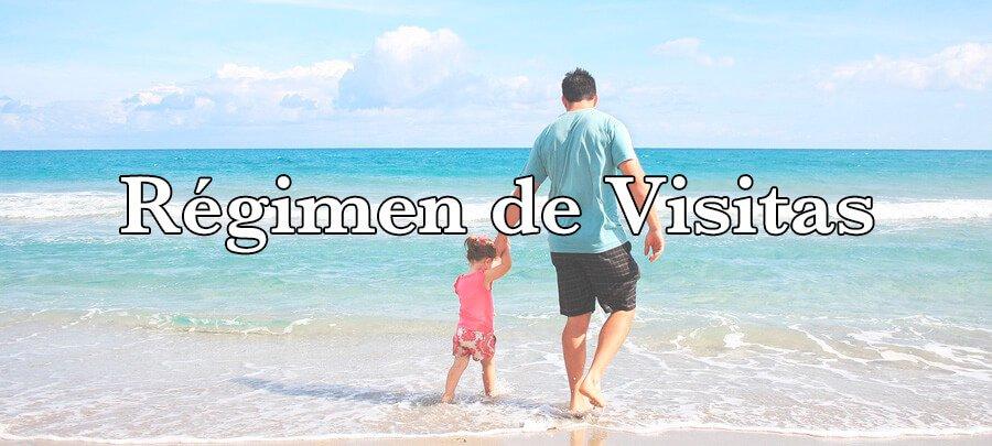 Régimen de visitas en un divorcio con hijos