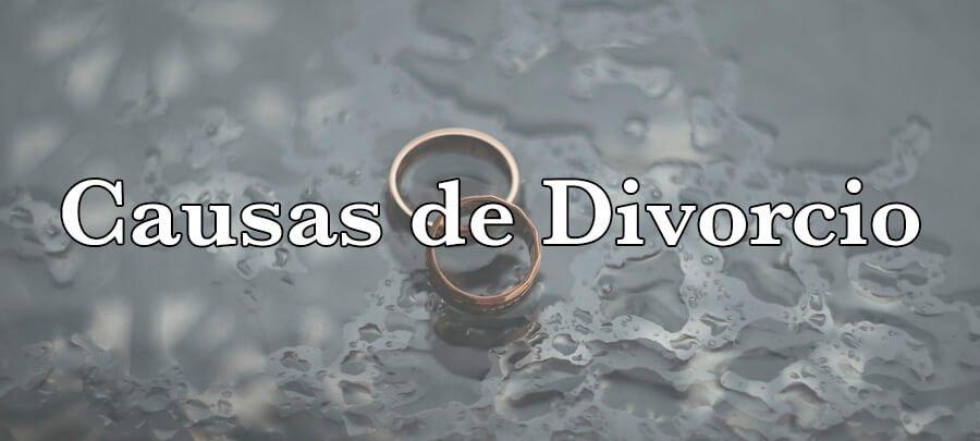 Causas de Divorcio