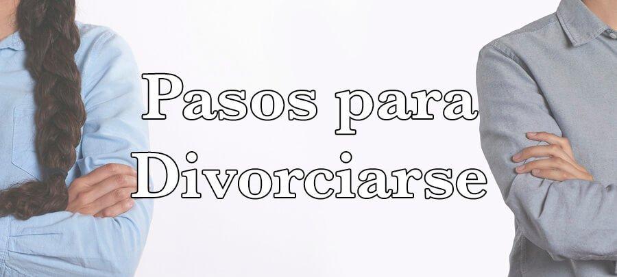 Pasos para Divorciarse