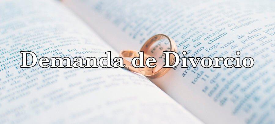 Demanda de Divorcio