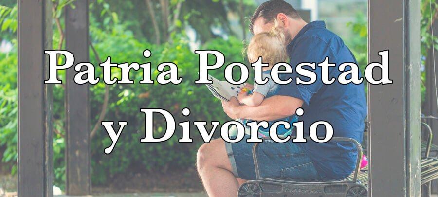 Patria potestad y divorcio