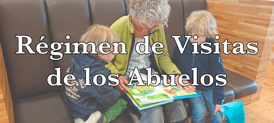 Régimen de visitas de los abuelos