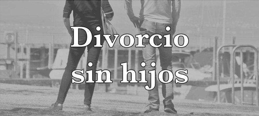 Divorcio sin hijos
